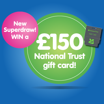 This summer WIN a £150 National Trust gift card!